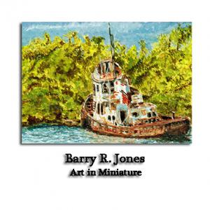 Check Out Original Miniature Watercolor Paintings